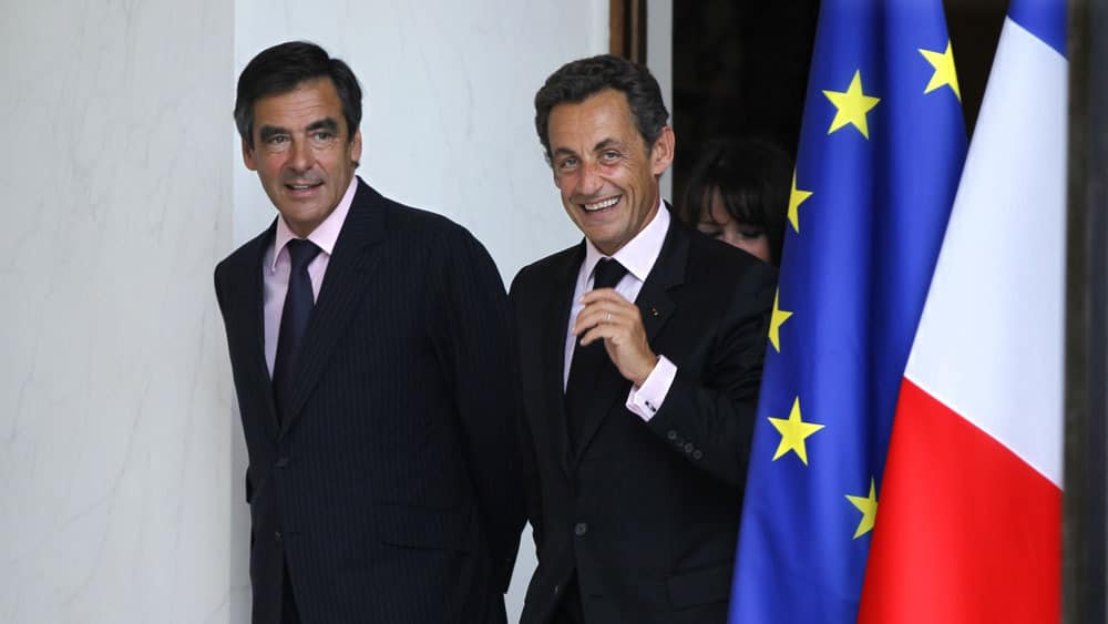 François Fillon  et Sarkozy