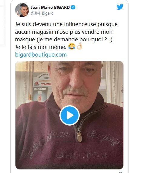 Jean-Marie Bigard multiplie les casquettes !