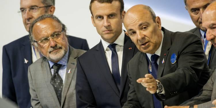 L'hommage d'Emmanuel Macron