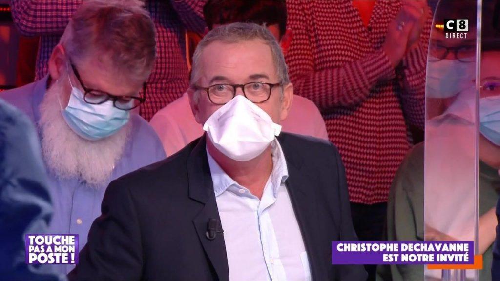 Christophe Dechavanne, vacciné à l'âge de 63 ans