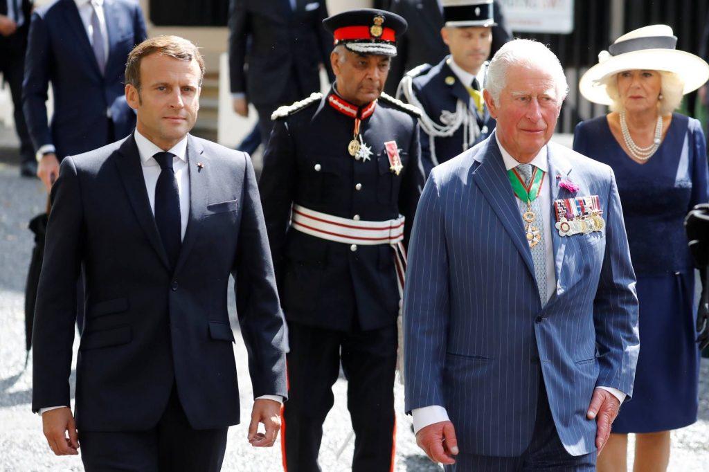 Emmanuel Macron rend un hommage au prince Philip