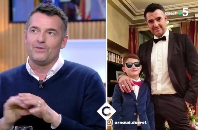 L'acteur et son fils