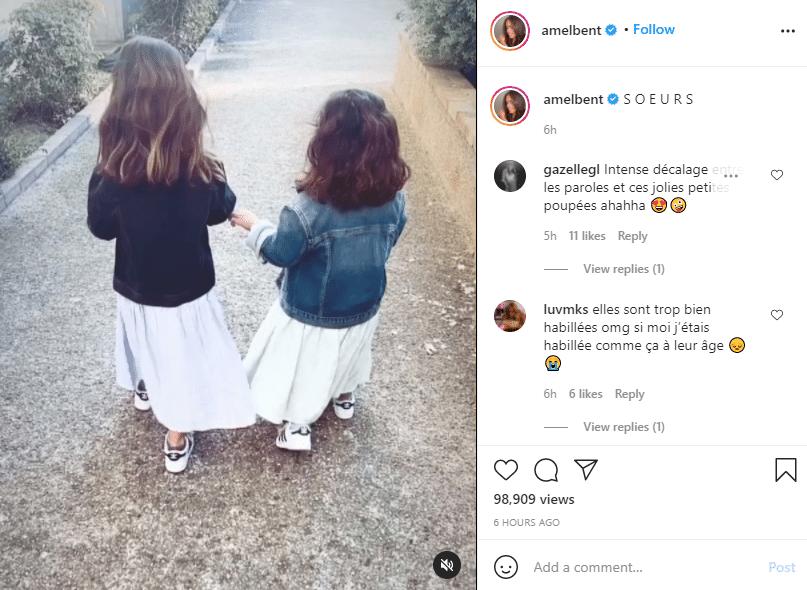 Les filles d'Amel Bent