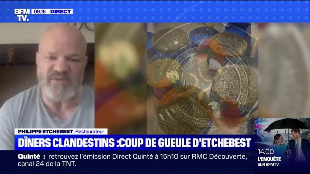 Philippe Etchebest en colère !