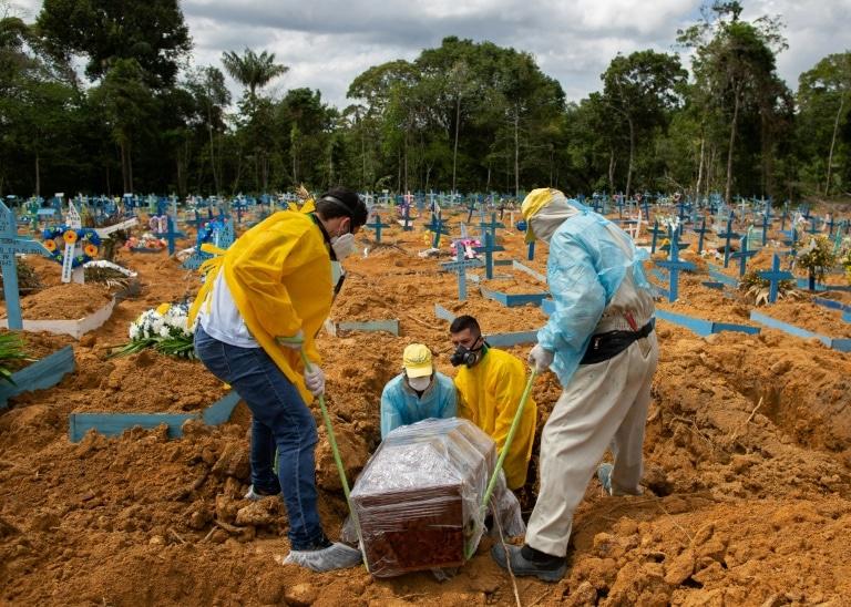 Le mois le plus meurtrier pour le Brésil