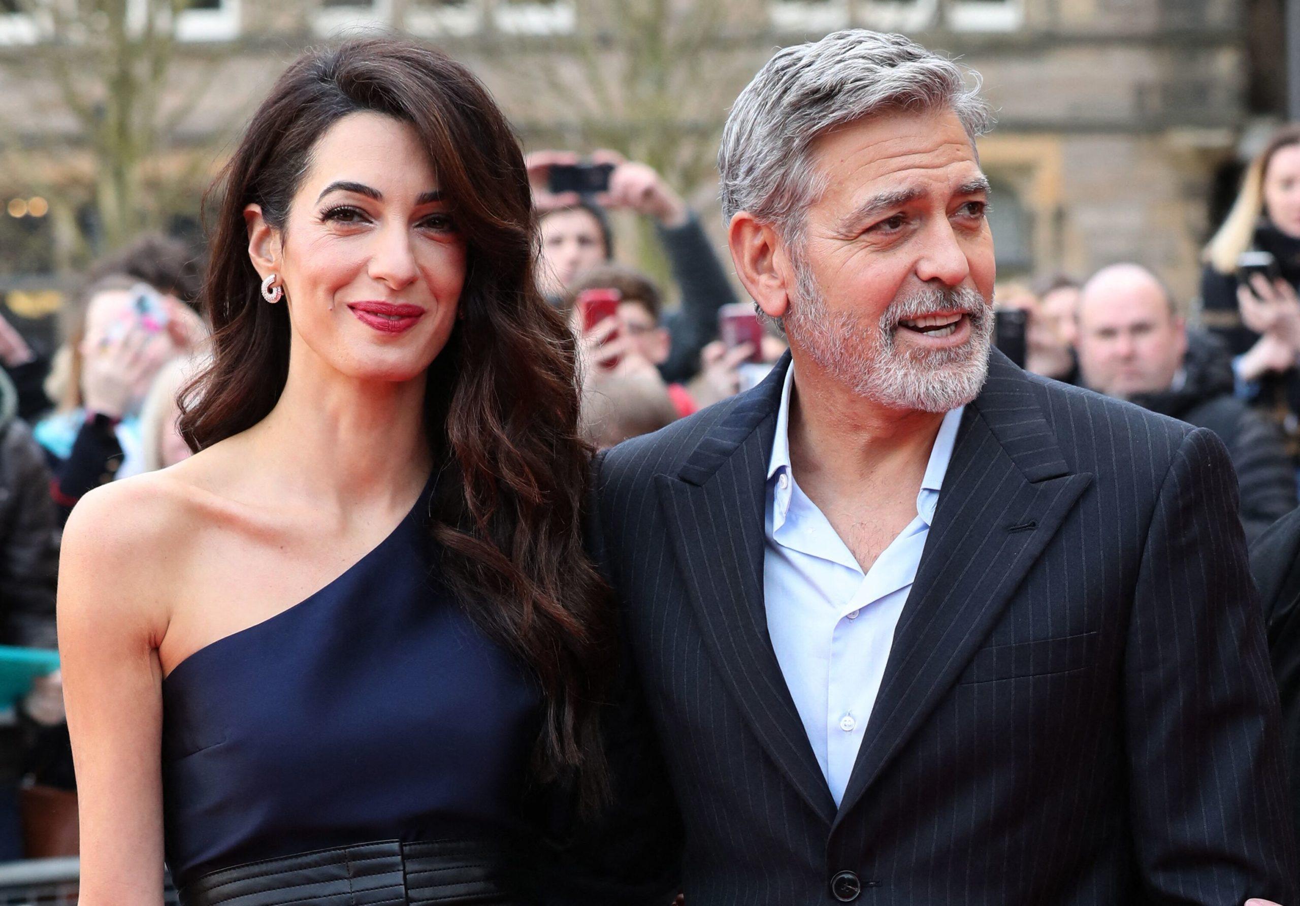George Clooney. Il s'installe en France avec sa petite famille : Découvrez où!