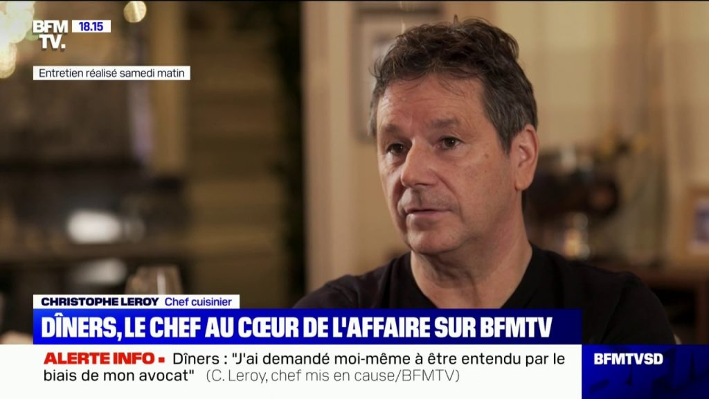 Christophe Leroy assume les faits !