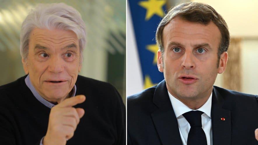 Emmanuel Macron intervient pour Bernard Tapie