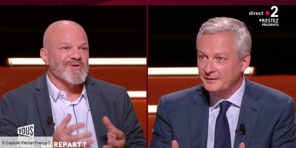 Coup de fil de Bruno Le Maire à Philippe Etchebest