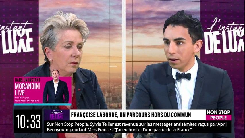 François Laborde se montre transparente