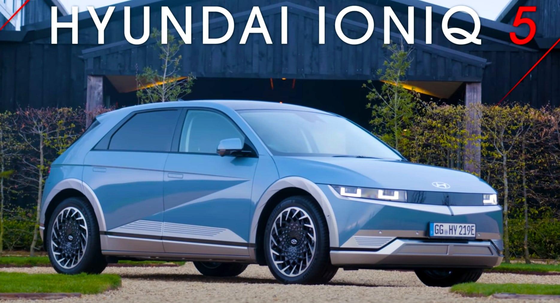 Hyundai commercialise la voiture électrique Ioniq 5 !