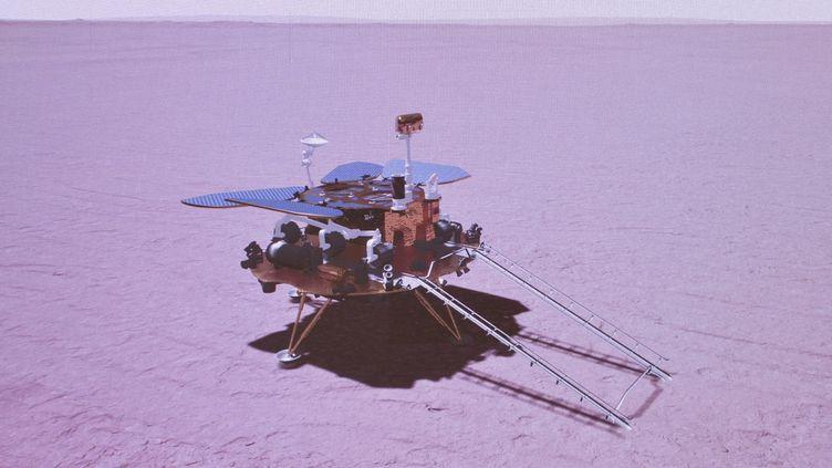 La Chine sur Mars !