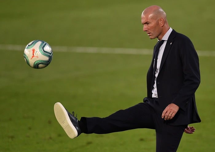 Zinedine Zidane quitte le Real Madrid