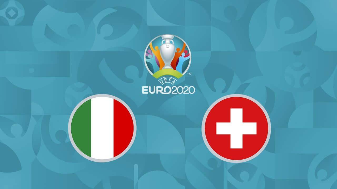 Italy 3-0 Switzerland : Italy qualifies for the next round!