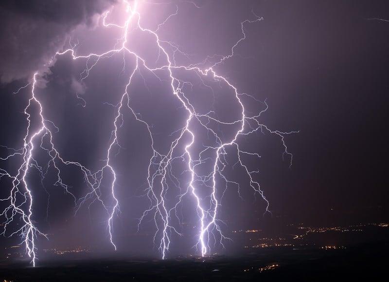 Météo France : Des orages violents
