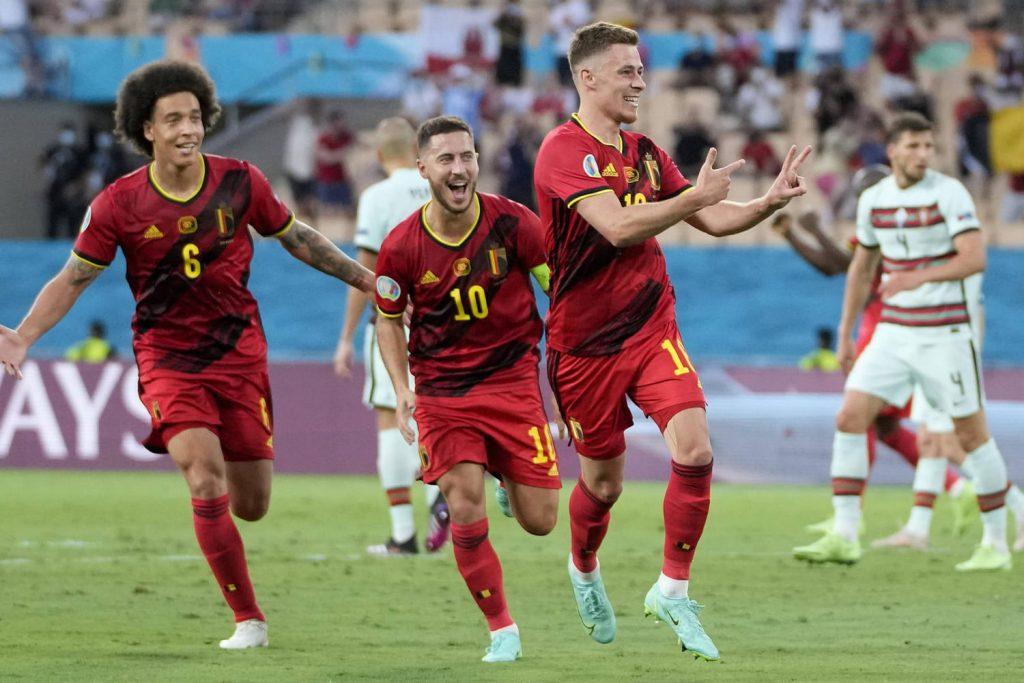 Belgique 1-0 Portugal