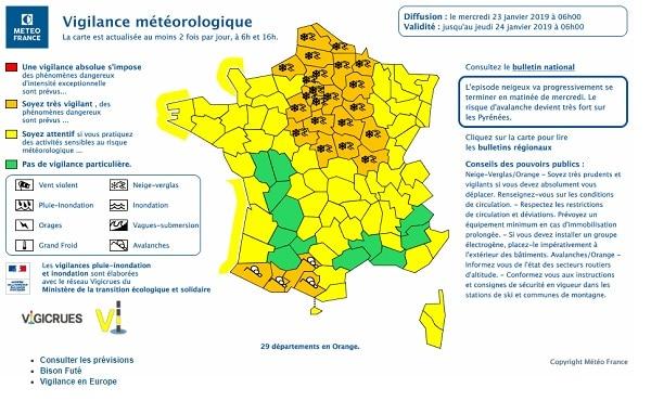 Alerte Météo France !