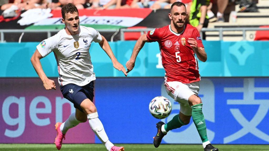 Hungary 1-1 France :