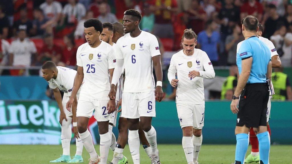 Portugal 2-2 France.