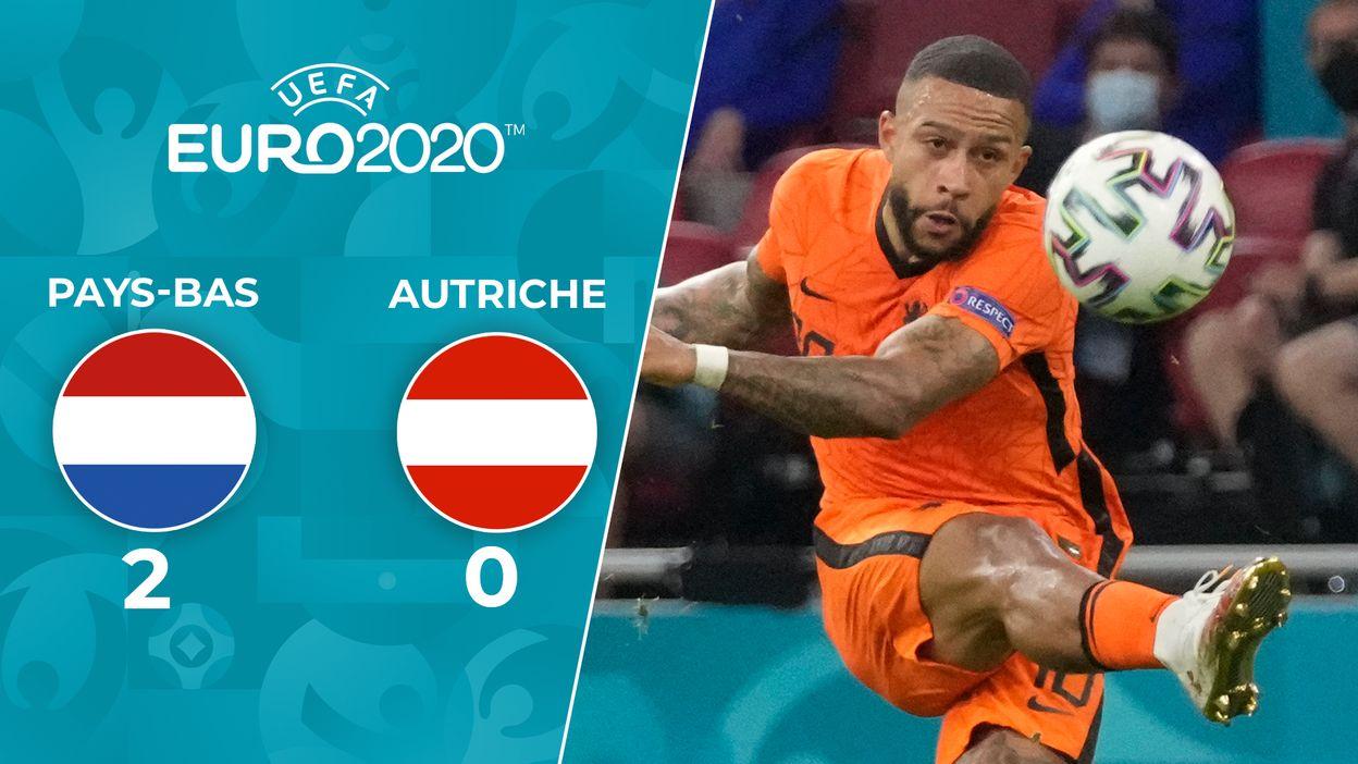 Pays-bas 2-0 Autrich : Les Pays-Bas filent vers les huitièmes!
