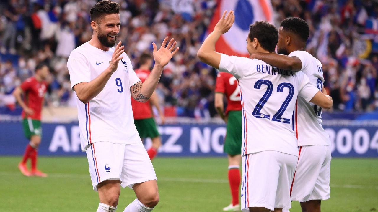 Giroud toujours décisif. La France s'est imposée 3-0 contre la Bulgarie hier soir.