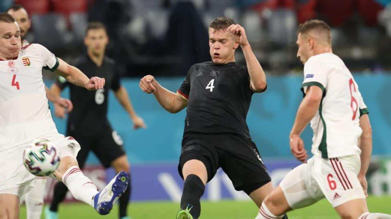 Germany 2-2 Hungary : Germans qualify painfully