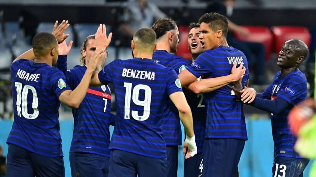 France 1-0 Germany.
