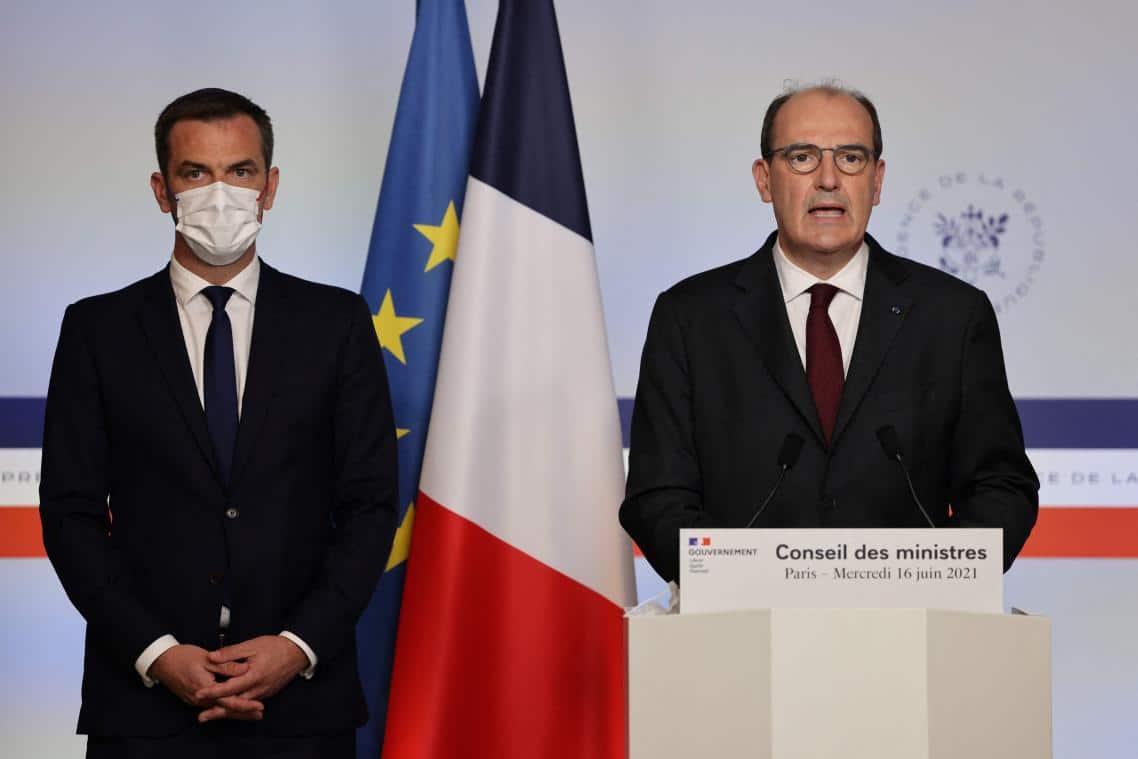 Jean Castex annonce la levée du couvre-feu et la fin du masque!