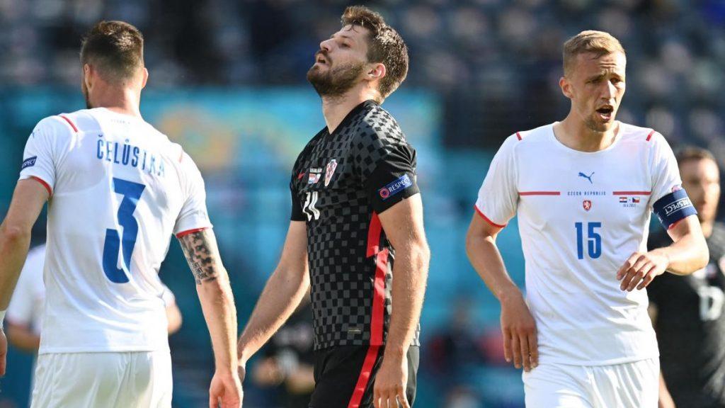 Euro 2021: Croatia 1-1 Czech Republic