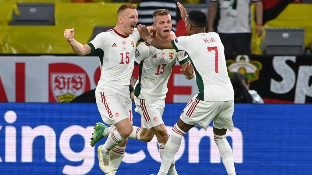 Germany 2-2 Hungary :