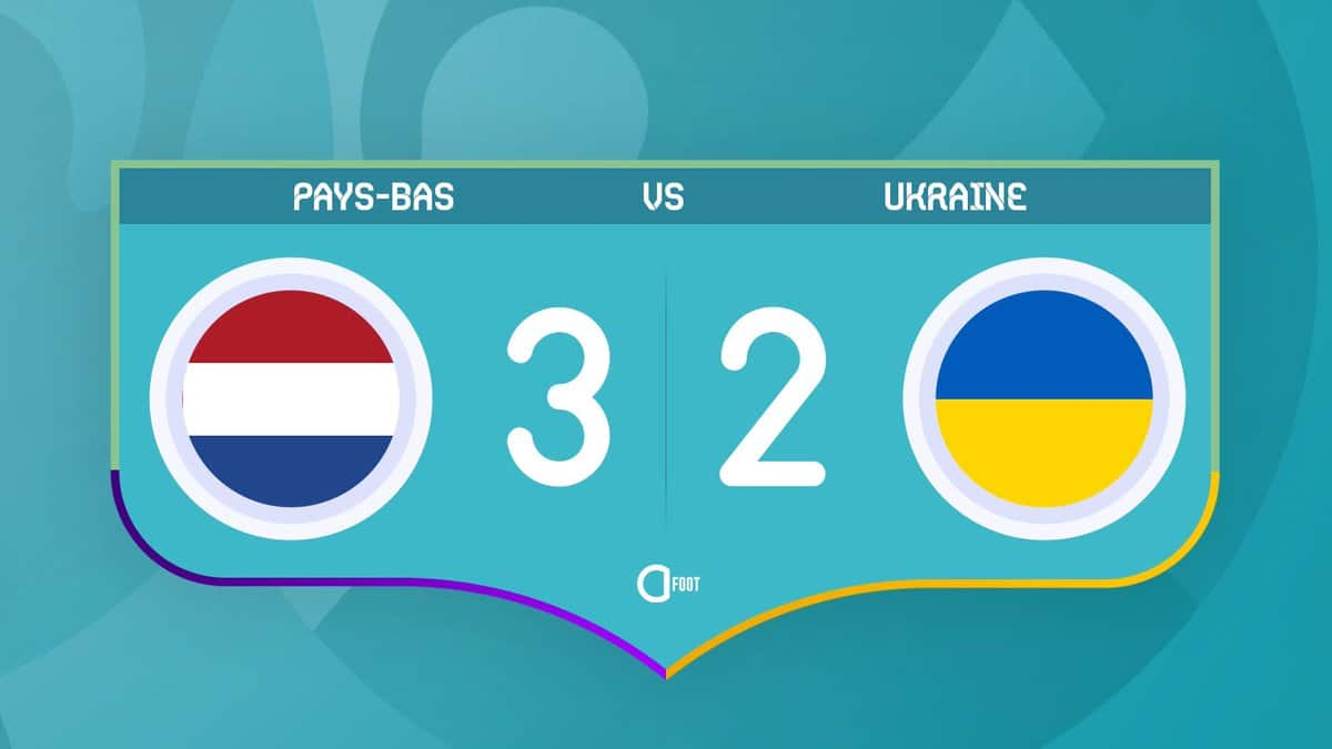Netherlands 3-2 Ukraine : The Dutch scared themselves in Amsterdam tonight!
