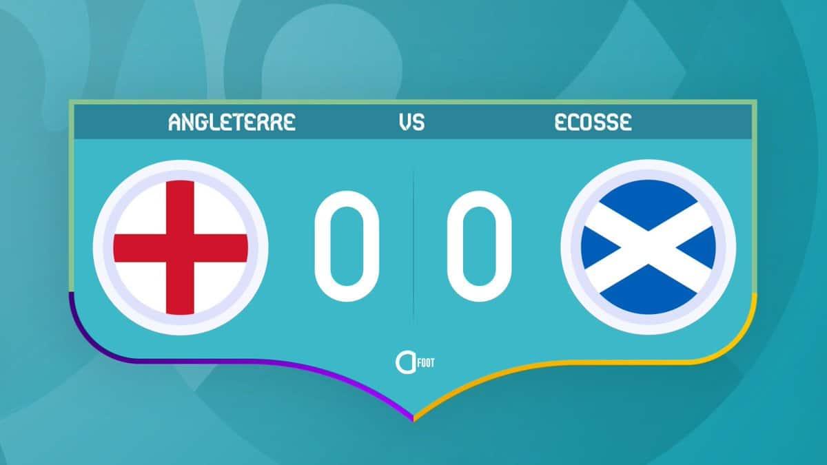 Angleterre 0-0 Écosse... Un match nul.