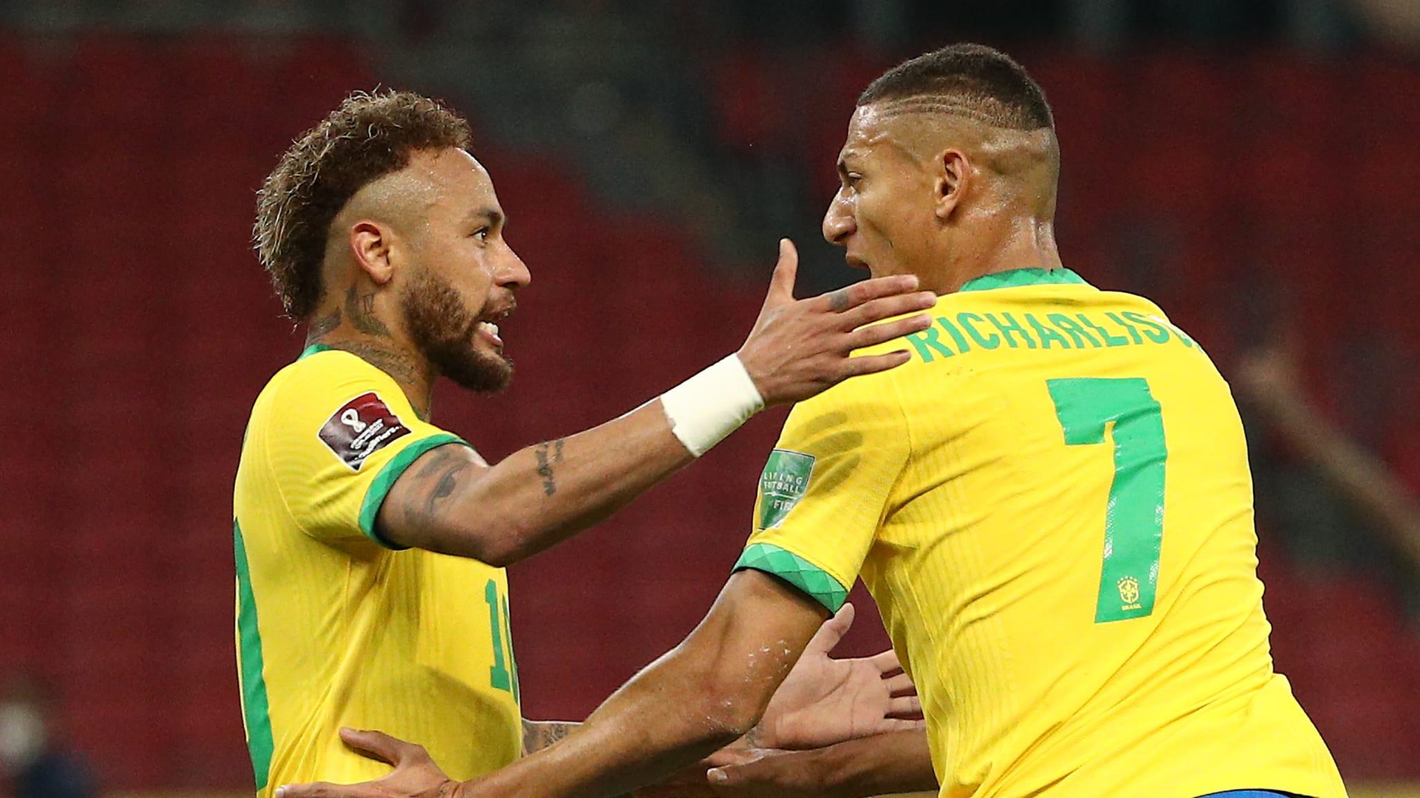 Victoire du Brésil contre l'Equateur 2-0