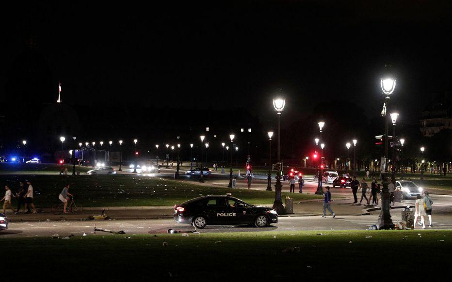 Une nouvelle intervention policière à Paris