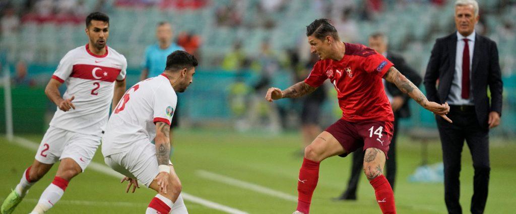 Switzerland 3-1 Turkey :