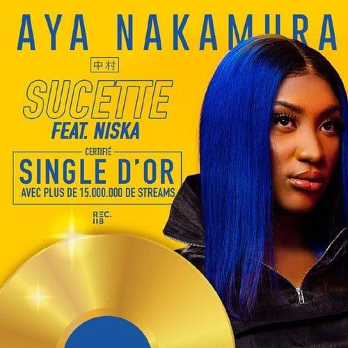 Aya Nakamura.. Elle bat un nouveau record avec son 8ème single de diamant !