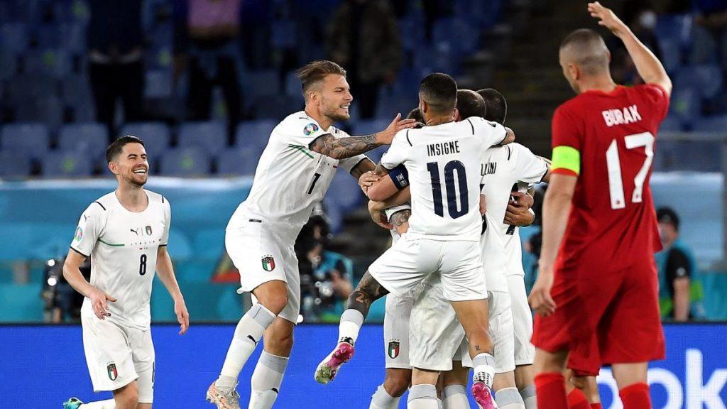 Italy 3-0 Turkey