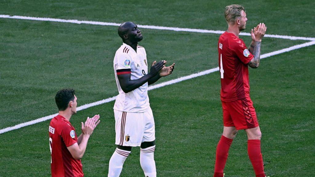 Belgium wins against a great danish team : 1-2