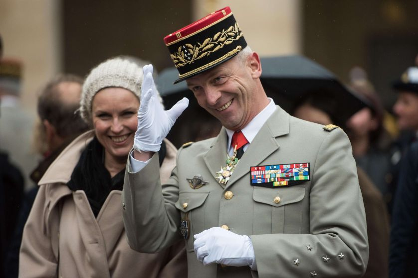 """Le général François Lecointre : """"C'est mon souhait"""""""