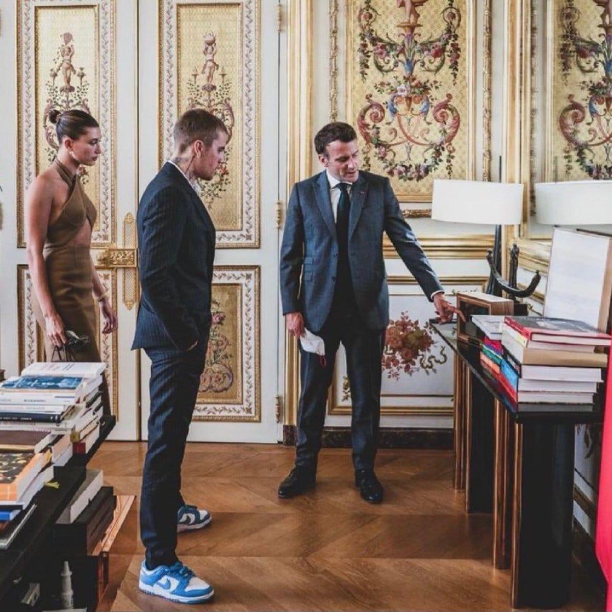 Justin Bieber. Le chanteur reçu par Emmanuel Macron à l'Elysée