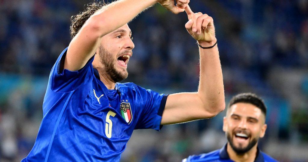 Italy 3-0 Switzerland. Tops