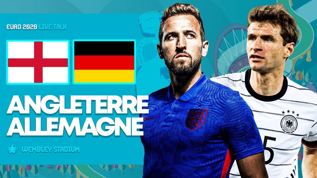Angleterre 2-0 Allemagne : L'Angleterre victorieuse à Wembley file vers les quarts