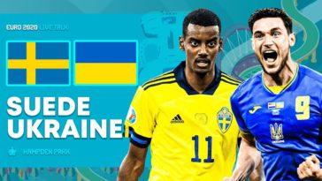 Suède 2-1 Ukraine : L'Ukraine jouera l'Angleterre en quarts.