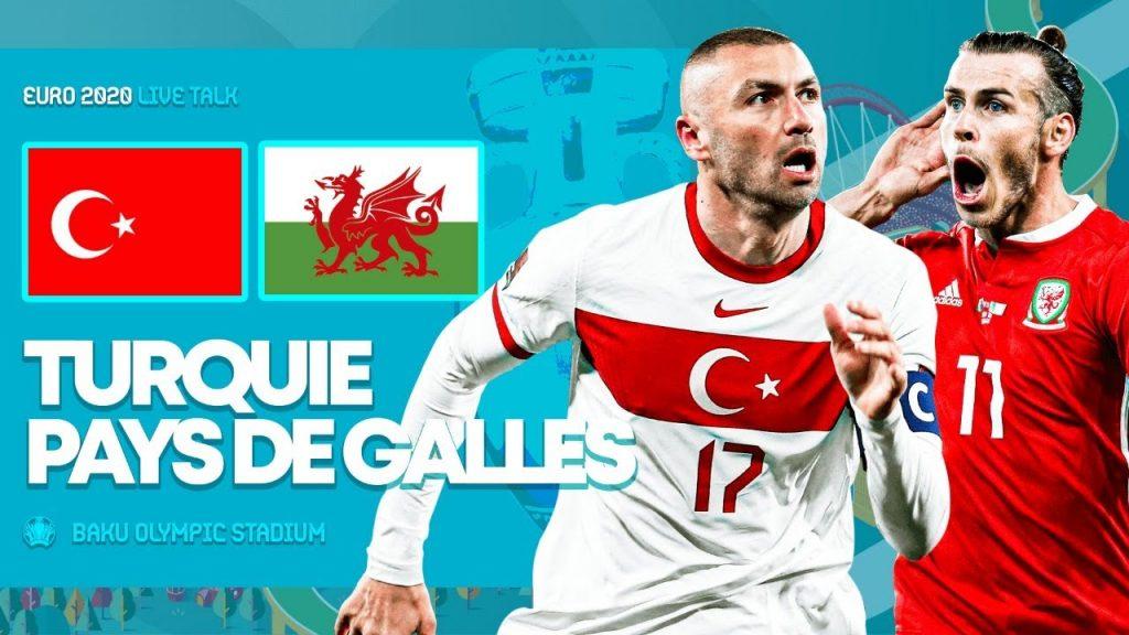 Pays de Galles 2-0 Turquie