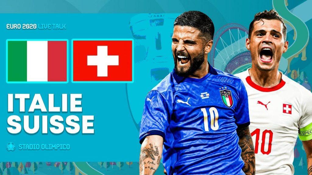 Italy 3-0 Switzerland