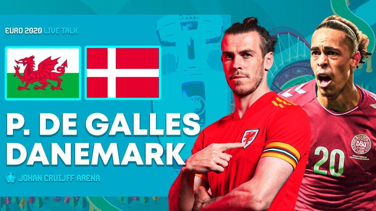 Pays de Galles 0-4 Danemark : Héroïques Danois!
