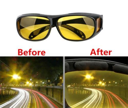 Des lunettes pour assister la vision de conduite de nuit !