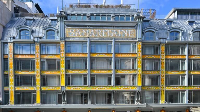 Réouverture de la Samaritaine à Paris