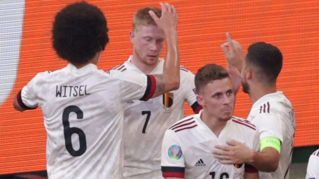 Belgium danish team : 1-2 Top : De Bruyne