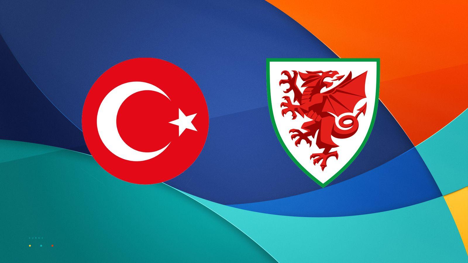 Wales 2-0 Turkey : Ramsey scored on a nice opening